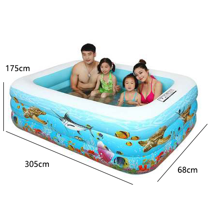 [해외]?유아 어린이 수영장 팽창 식 Thicken Family Pool 축소 형 해양 수영장 성인 수영/ Infant Kids Pool Inflatable Thicken Family Pool Collapsible Ocean Pool For Adult Swimming