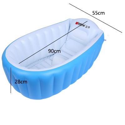 [해외]?신생아 안전 욕조 아기 범용 대형 짙어 지 풍선 어린이 & 욕조에 대한 유아 욕조/ Infant Tub For Newborn Safety  Tub Baby Universal Large Thickening Inflatable Children&s Batht