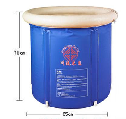 [해외]?성인 배럴 배럴 접이식 욕조 욕조 팽창 식 배가 대형 배가 몸통 배럴 바디/ Adult Bath Barrel Folding Bath Tub Inflatable Bathtub Thickening Large Heightening Bath Barrel Body