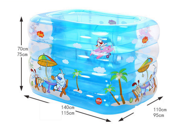 [해외]?수영장 절연 어린이 아기 수영 배럴 가정용 Heightening 욕조 신생아욕조/ Swimming Pool Insulation Children Baby Swimming Barrel Household Heightening Bath Tub For Newborn