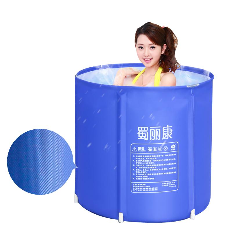 [해외]65X68cm 휴대용 욕조 두꺼운 접는 욕조 풍선 욕조 성인 목욕탕 어린이 욕조/65X68cm Portable Bathtubs  Thick folding tub  inflatable bathtub adult bath pool  children tub