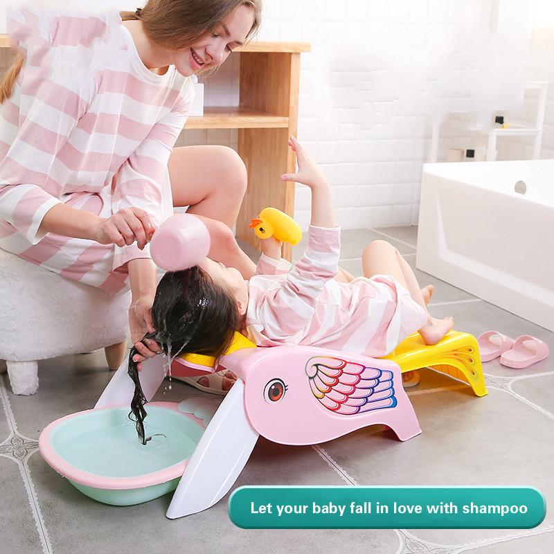 [해외]접이식 홈 베이비 샴푸 유물 소녀 아동 샴푸 침대 어린이 샴푸 안락 의자/Foldable Home Baby Shampoo Artifact Girl Child Shampoo Bed Children Shampoo Recliner