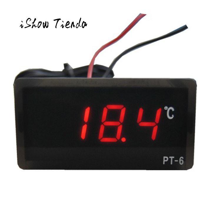 [해외]2017 새로운 디지털 LED 온도계 온도 AC 220V -50 섭씨 110도 디지털 LED 온도계 온도 검출기/2017 New Qualified Digital LED Thermometer Temperature AC 220V -50 To 110 Celsius D