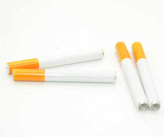 [해외]10 개 / 많은 실제 2015 담배 모양 압연 기계 파이프 모양의 알루미늄 금속 금연 파이프/10 pcs/lot real 2015 cigarette shape rolling machine pipe wholesale shaped aluminum metal smo