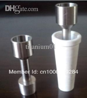 [해외]18mm 티타늄 Domeless 네일 2 급 세라믹 글로브 오일 조작 돔/18mm Titanium Domeless Nail Grade 2 Ceramic Globe Oil Rig Dome