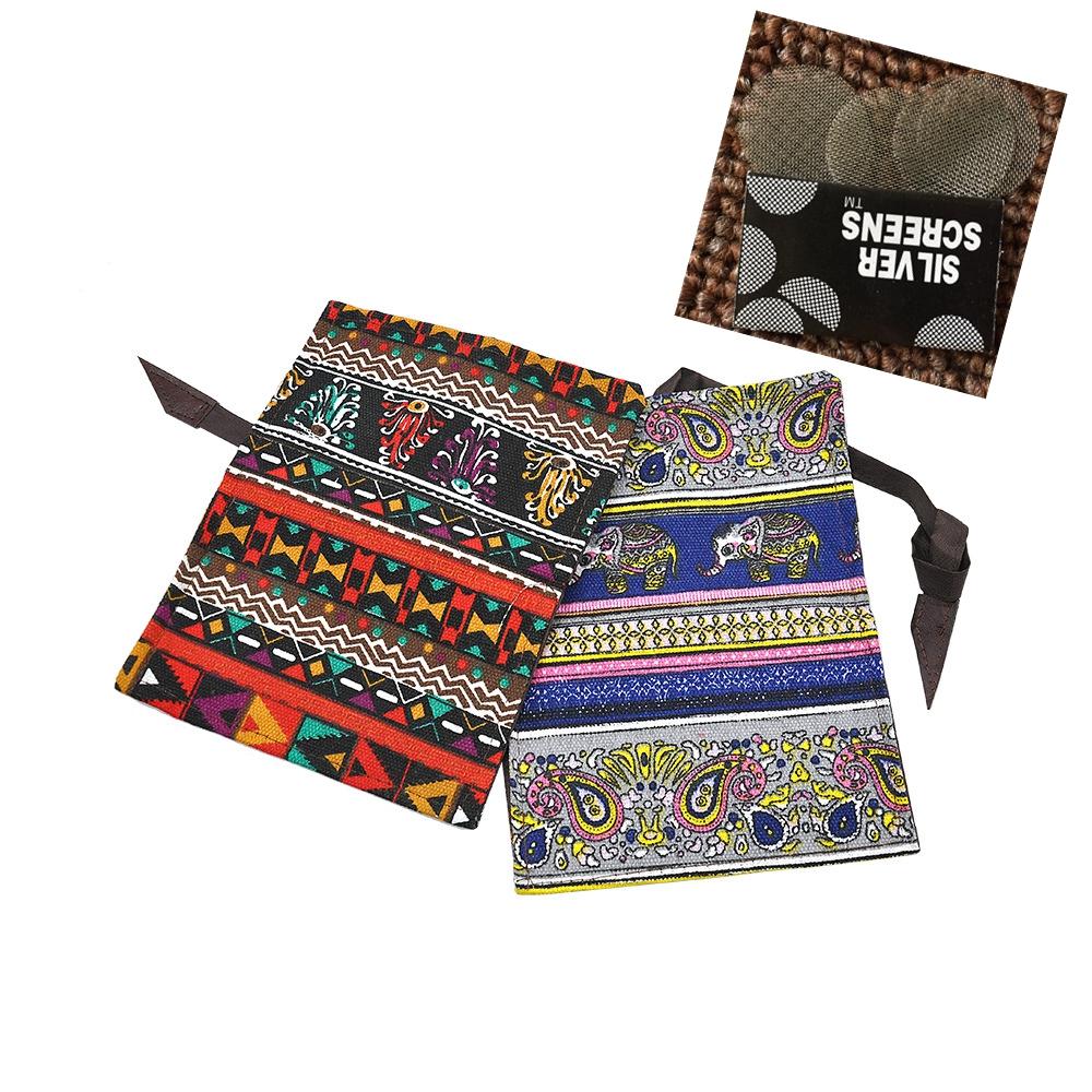 [해외]1pcs 국립 스타일 우연한 담배 PouchHolder 담배 지갑 지갑 지갑 가방 불타는 조각 선물/1Pcs New Arrival National style PU Tobacco PouchHolder Tobacco Wallet Bag Purse Bag Burnin
