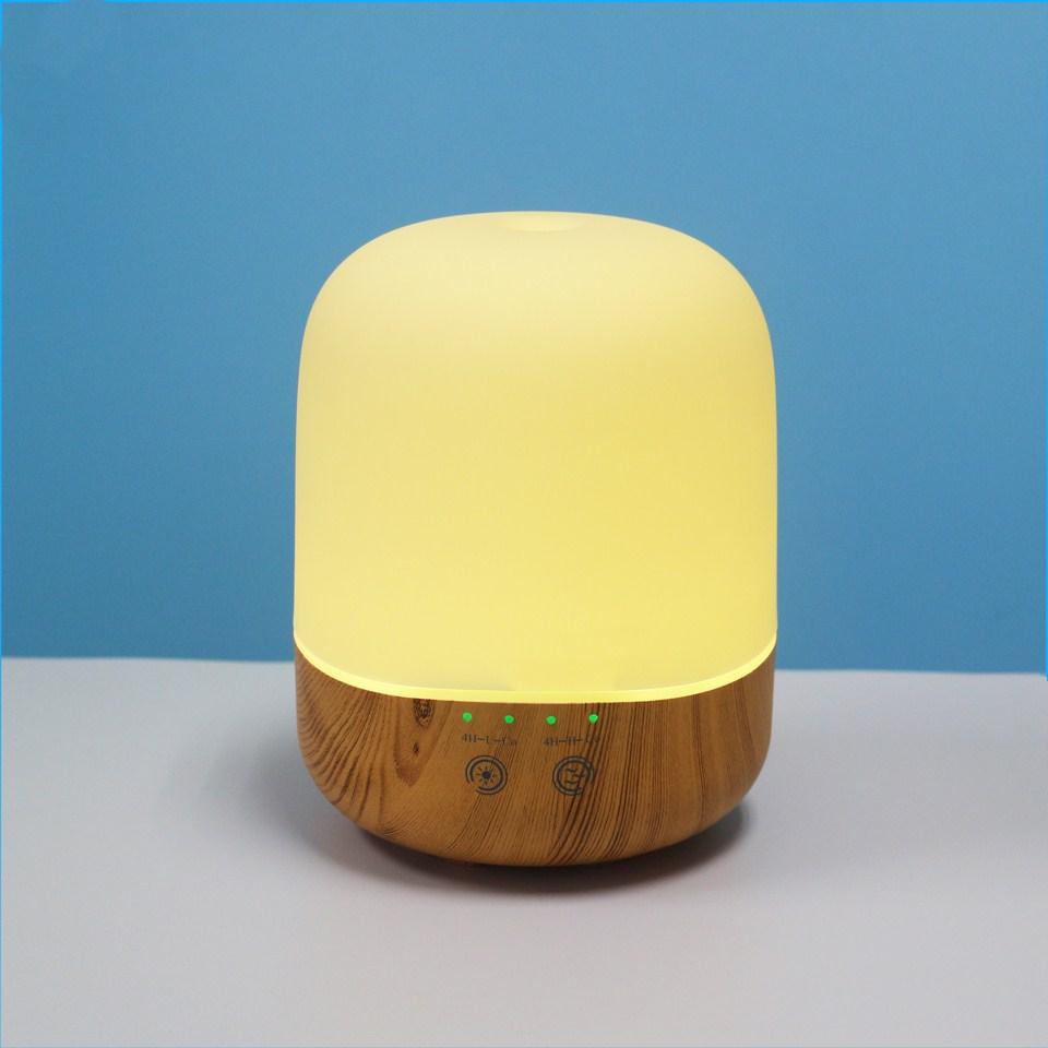 [해외]Chern 300ML 우드 그레인 아로마 에센셜 오일 기관총 초음파 가습기 7 색상 Chaning LED 조명 전기 향기/Chern 300ML Wood Grain Aroma Essential Oil Diffuser Ultrasonic Air Humidifier7