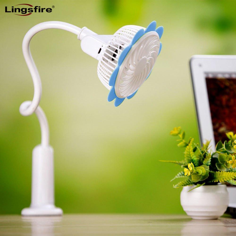[해외]가정용, 사무실 용 충전식 휴대용 클립 팬 데스크탑 USB 팬 미니 베이비 유모차 FanFlexible 목 조절 속도/Rechargeable Portable Clip Fan Desktop USB Fan Mini Baby Stroller FanFlexible Ne