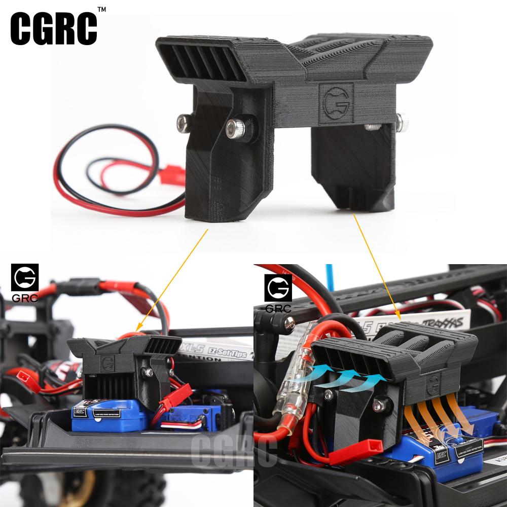 [해외]1/10 RC 크롤러를새로운 TRX4 ESC 라디에이터 냉각 팬 TRAXXAS TRX-4 TRX 4/New TRX4 ESC Radiator Cooling Fan for 1/10 RC Crawler TRAXXAS TRX-4 TRX 4