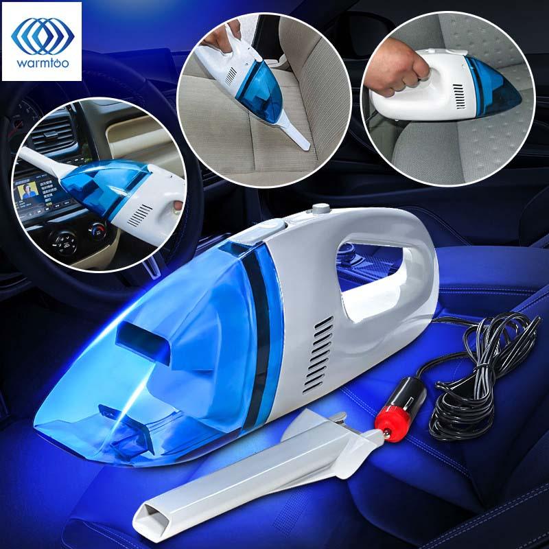 [해외]60W 미니 12V 자동차 자동 습식 드라이 핸드 헬드 진공 청소기 휴대용 경량 고성능 2.4M 충전식 진공 청소기/60W Mini 12V Car Auto Wet Dry Handheld Vacuum Cleaner Portable Lightweight High P