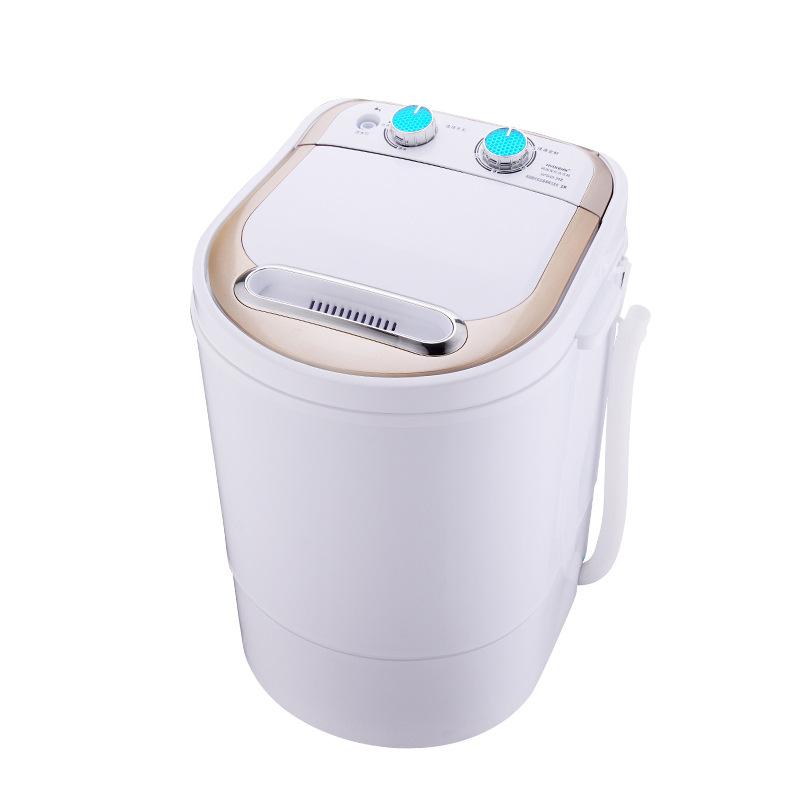 [해외]240w 힘 세탁기는 세탁 할 수있다 4.0kg 옷 + 240power 3kg 건조기 단 하나 탑 이동기와 건조기 반자동 탈수 함/240w power Mini washer can wash 4.0kg clothes+240power 3kg dryer single t