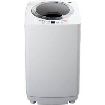 [해외]3 Kg 완전 자동 웨이브 휠 권선 방지 세탁기 소음 감소 소형 초소형 베이비 세척기 투명 은색/3 Kg Fully Automatic Wave Wheel Anti-winding Washing Machine Noise Reduction Mini Small Baby