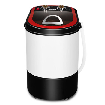 [해외]2.2kg 싱글 배럴, 반자동 건조 및 세차 작은 아기 Tongbao 반자동 미니 세탁기 레드 골드/2.2kg Single Barrel, Semi-automatic Drying and Washing Small Baby Tongbao Semi-automatic M