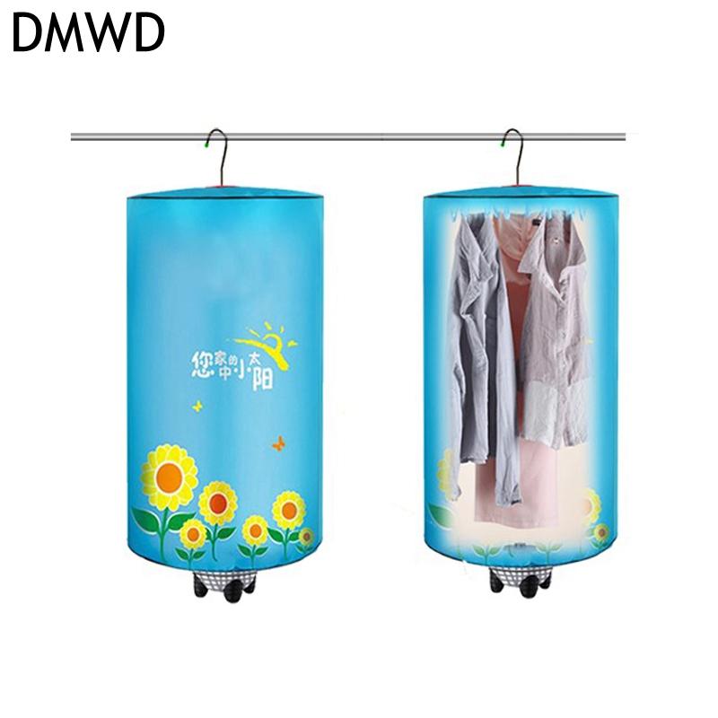 [해외]DMWD 전기 미니 의류 건조기 휴대용 접이식 교수형 타입 빠른 건조기 장치 220V 500W 스테인레스 스틸 랙 접을 수있는/DMWD Electric Mini Clothes dryer Portable Foldable Hanging Type Quick dryer