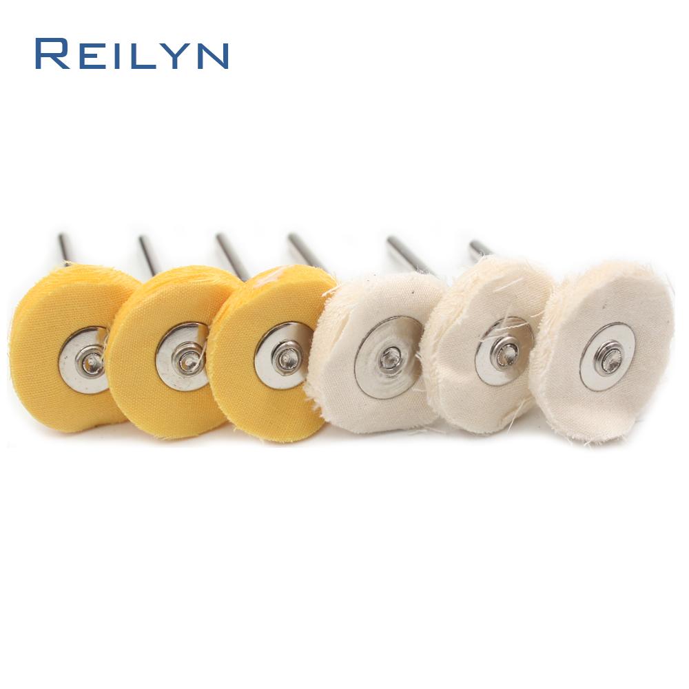 [해외]헝겊 연마 디스크 헝겊 마무리 걸레 바퀴 연마 롤러 3mm x 20mm 전기 그라인더 / 회전 공구/cloth polishing disc cloth finishing mop rug wheel polishing roller 3mm x 20mm for electri