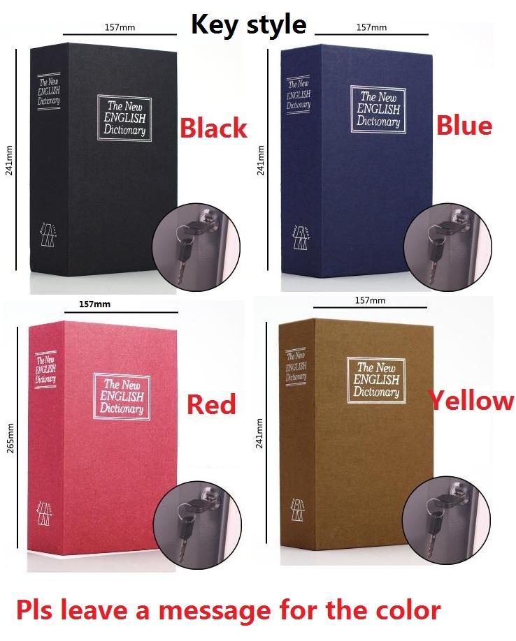 [해외]키 열기 24CM * 15.7CM * 5.5CM 영어 사전 크리 에이 티브 은행 카드 핀 돈 휴대 전화 BooksSafes 저축 은행/Key Open 24CM*15.7CM*5.5CM English Dictionary Creative Bank Card Pin Mo
