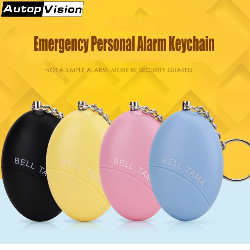 [해외]미니 개인 알람 키 체인 벨 타마 휴대용 키 체인 알람 120dB 안티 - 여성을Anti-Wolf 안티 - 늑대 알람 노인 학생/Mini Personal Alarm Keychain Bell Tama Portable Keychain Alarm 120dB Anti-