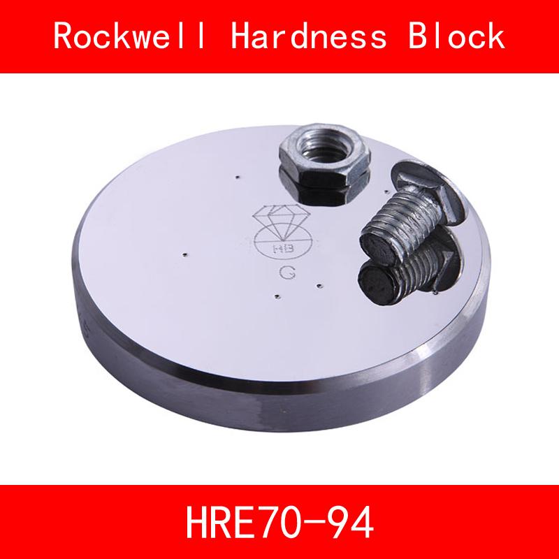 [해외]로크웰 경도 70-94HRE 금속 로크웰 HRE 경도 참조 블록 경도 시험 표준 블록 경도 시험기/Rockwell Hardness 70-94HRE Metallic Rockwell HRE Hardness Reference Blocks Hardness Test St