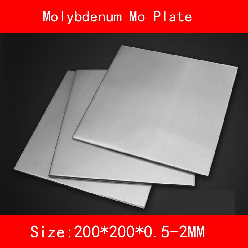 [해외]몰리브덴 플레이트 크기 200 * 200mm 두께 0.5-2mm 금속 Mo 시트/Molybdenum plate size 200*200mm thickness 0.5-2mm metal Mo Sheet