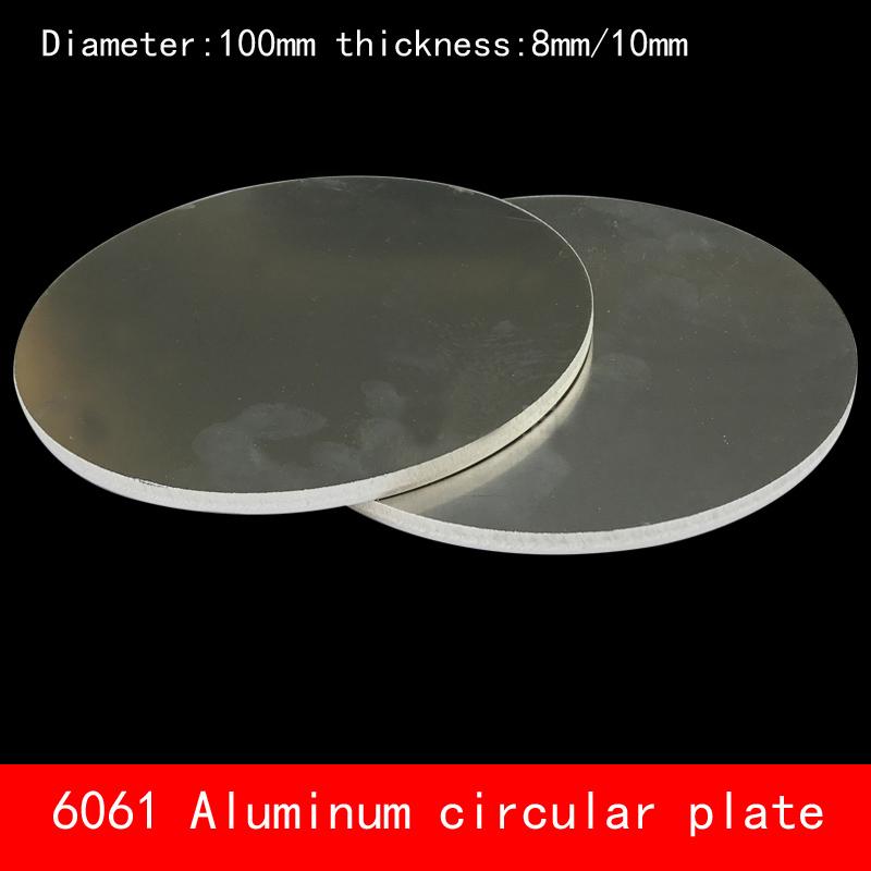 [해외]직경 100 * 8mm D100 * 10mm 둥근 원형 알루미늄 판 8mm 10mm 두께 맞춤 CNC 금속 가공/diameter 100*8mm D100*10mm circular round Aluminum plate 8mm 10mm thickness custom