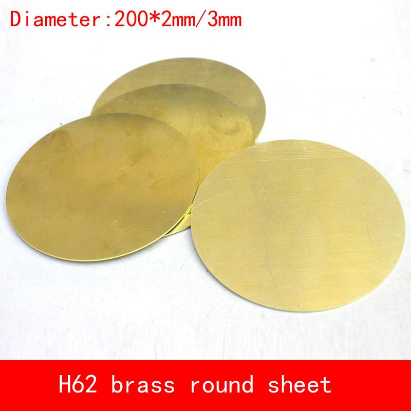 [해외]직경 200 * 2mm / 3mm 원형 라운드 H62 CuZn40 황동 플레이트 D200x2mm 3mm 두께 구리 플레이트 맞춤 CNC 레이저 절단/diameter 200*2mm/3mm circular round H62 CuZn40 Brass plate D200