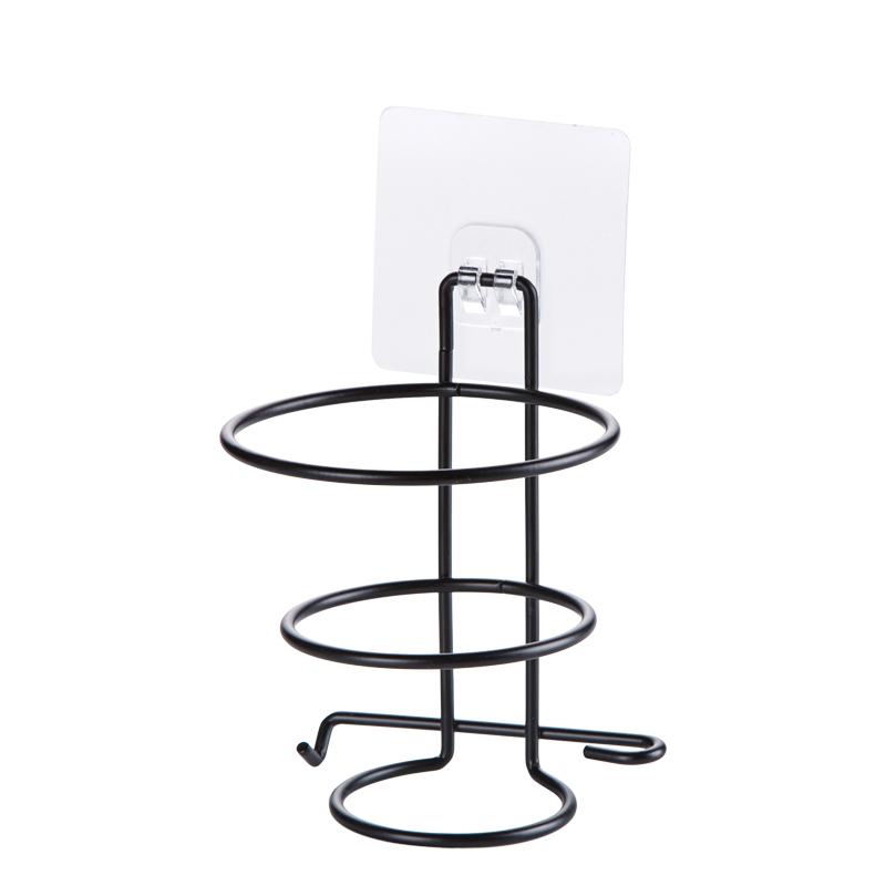 [해외]가정용 불필요 펀치 욕실 전기 헤어 드라이어 선반 스탠드 랙 홀더/Household No-need Punching Bathroom Electric Hair Dryer Shelf Stand Rack Holder