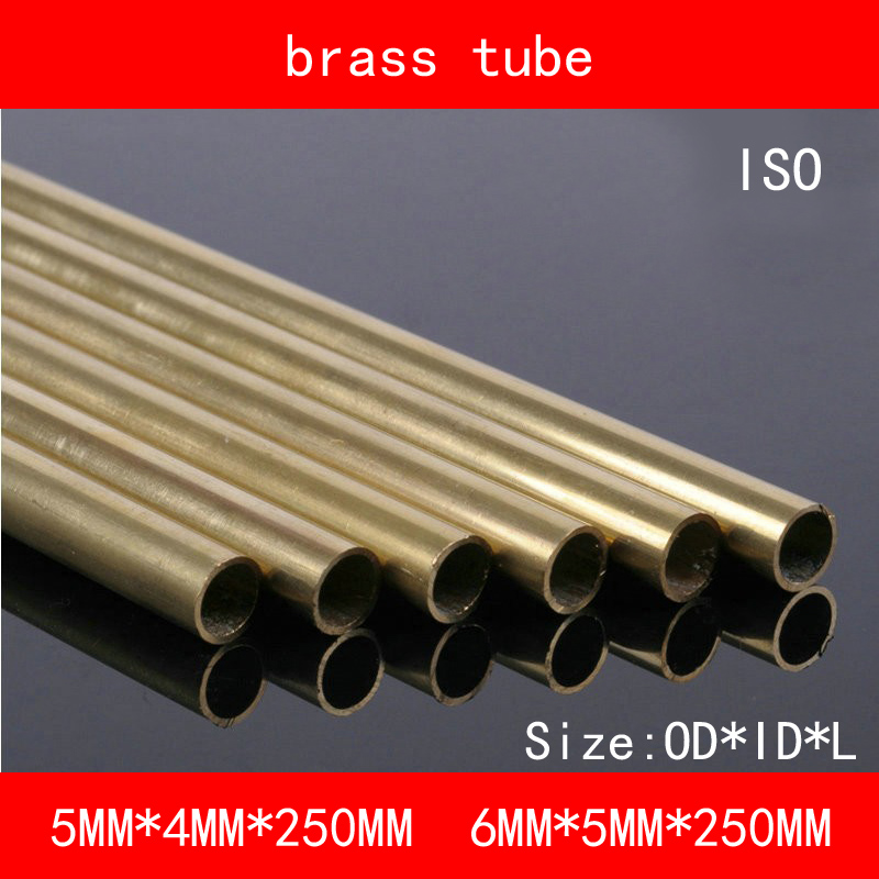 [해외]H62 황동 이음매없는 파이프 동관 OD * 길이 * 5 * 4 * 250mm 6 * 5 * 250mm ASTM C28000 CuZn40 CZ109 C2800 중공 막대 ISO 인증/H62 Brass Seamless Pipe Copper Tube OD*ID*Le