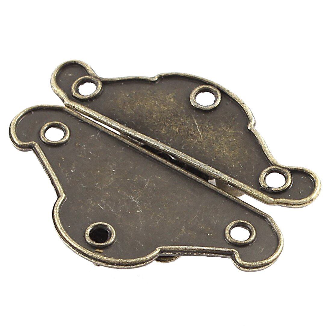 [해외]HHTL - 37mmx27mm 복고풍 스타일 박스 캐비닛 훅 잠금 장치 뚜껑 10pcs/HHTL-37mmx27mm Retro Style Box Cabinet Hook Lock Lid Latch 10pcs