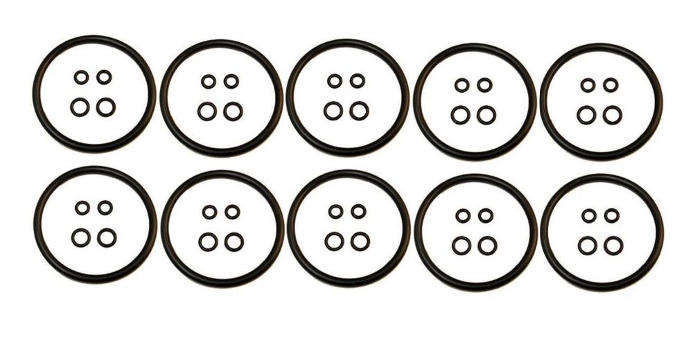 [해외]수량 10 고넬료 케그 오링 가스켓 씰 리빌드 키트 세트 맥주 소다 볼 핀 잠금/QTY 10 Cornelius Keg O-Ring Gasket Seal Rebuild Kit Set Beer Soda Ball Pin Lock