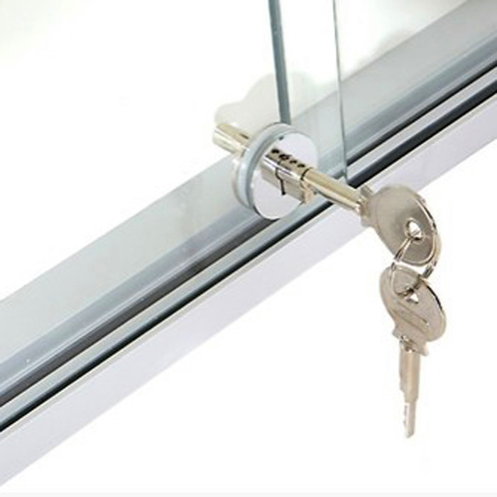 [해외]슬라이딩 유리 쇼케이스 잠금 캐비닛 디스플레이 쇼케이스 서랍 케이스 슬라이딩 유리 밀어 넣기 문 래칫 잠금 모든 키 유사한/Sliding Glass Showcase Lock Cabinet Display Showcase Drawer Case Sliding Glas