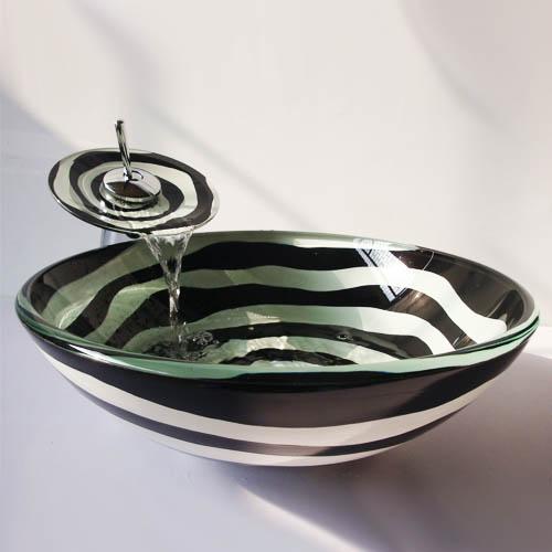[해외]어 골동품 유리 싱크대  씻어 분지 유리 카운터 탑 씻어 분지 욕실 싱크 /Chinese Antique glass sinks china wash basin glass Counter Top Wash Basin Bathroom Sinks china