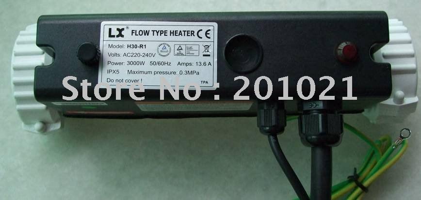 스파 욕조 히터 및 온수 욕조 히터 교체 수탉 히터 모델 RSL-L/T-3 i 타입