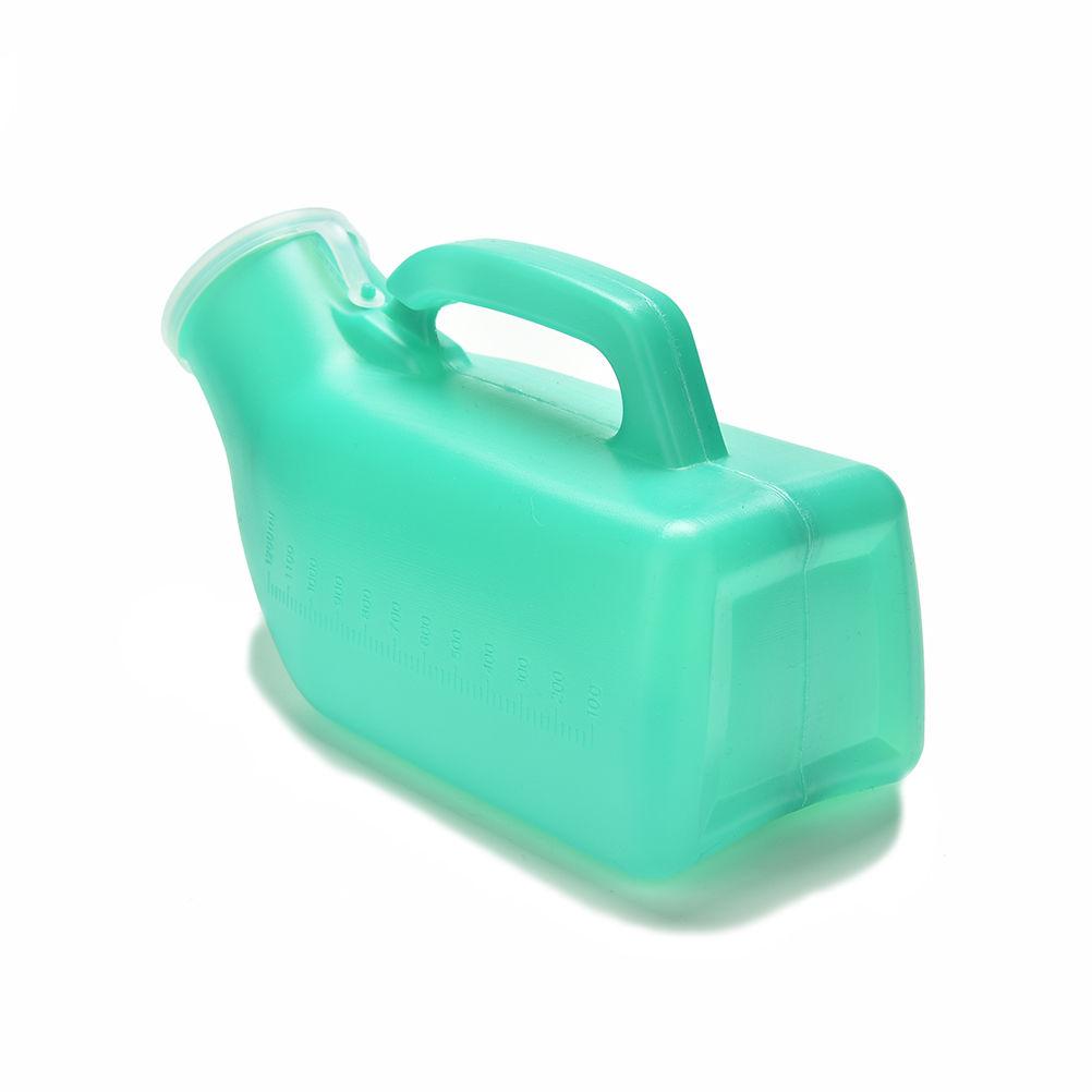 [해외]휴대용 빨 수있는 UniMobile 화장실 자동차 여행 캠프 소변량 손잡이 비뇨기 병 소변 보관 건강 관리/1200ml Portable Washable UniMobile Toilet Car Travel Camp Urine Pee Handle Urinary Bot