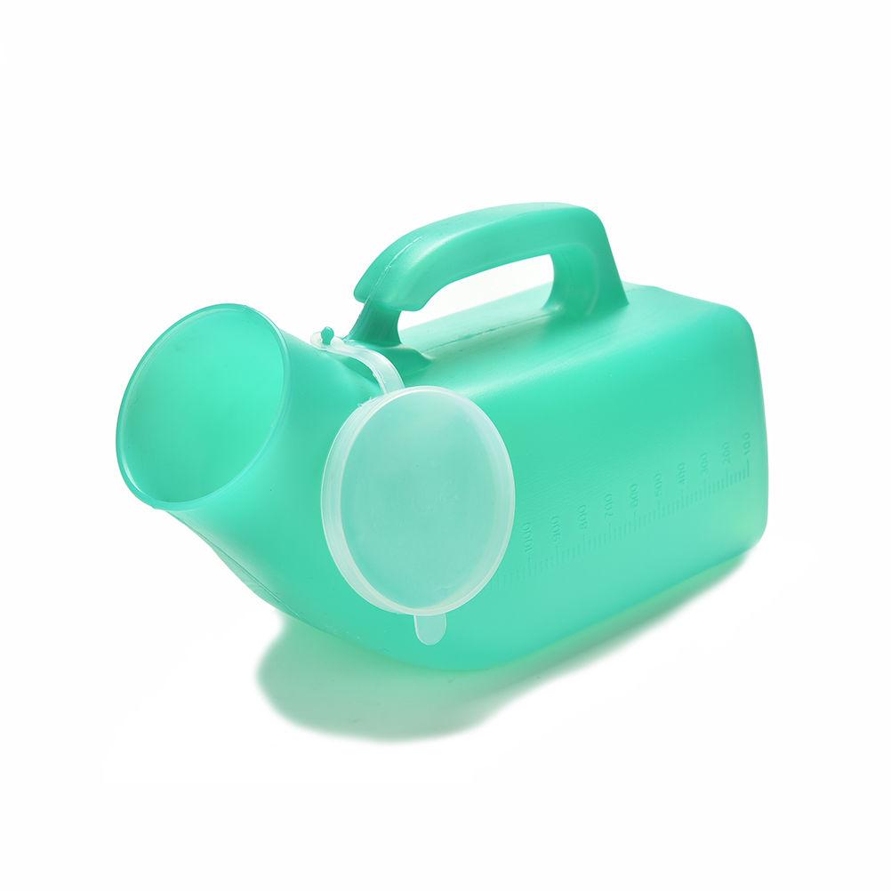 [해외]새로운 1200ML 여행 캠프 씻을 수있는 자동차 소변 핏 손잡이 소변기 보관 뇨병 병 UniMobile 화장실/New 1200ML Travel Camp Washable Car Urine Pee Handle Urinals Storage Urinary Bottle