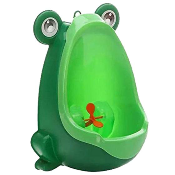 [해외]개구리 아이들 벽 장착 흡입 컵 소변기/Frog Children Wall-mounted suction cup Urinals
