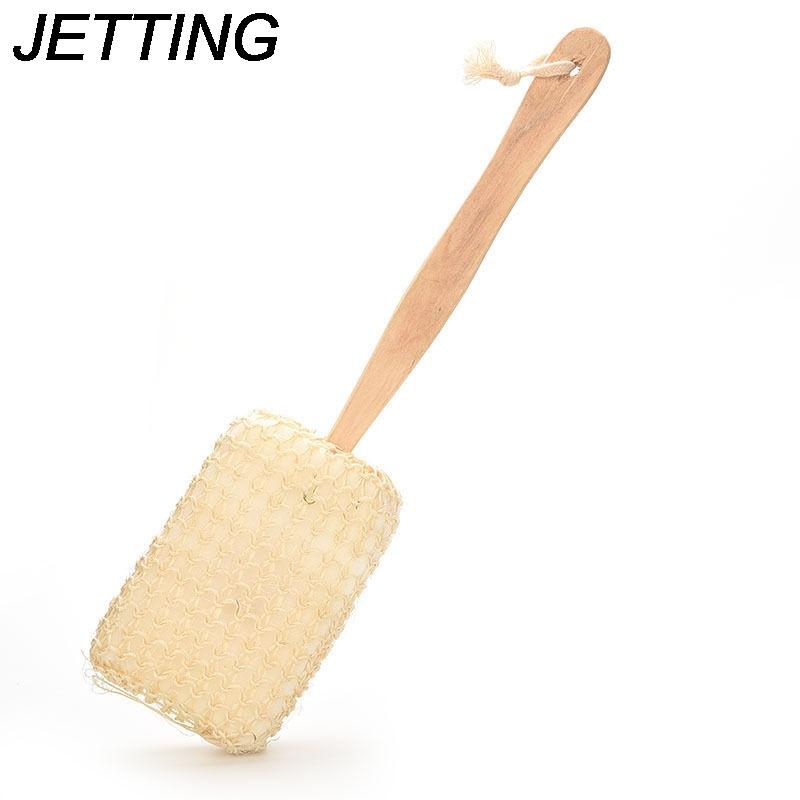 [해외]JETTING 디자인 샤워 목욕 브러시 목욕탕 제품 긴 나무 손잡이 자연 Sisal 바디 백 스폰지 세정기 Sanitary Ware Suite/JETTING Design Shower Bath Brush Bathroon Product Long Wooden Hand