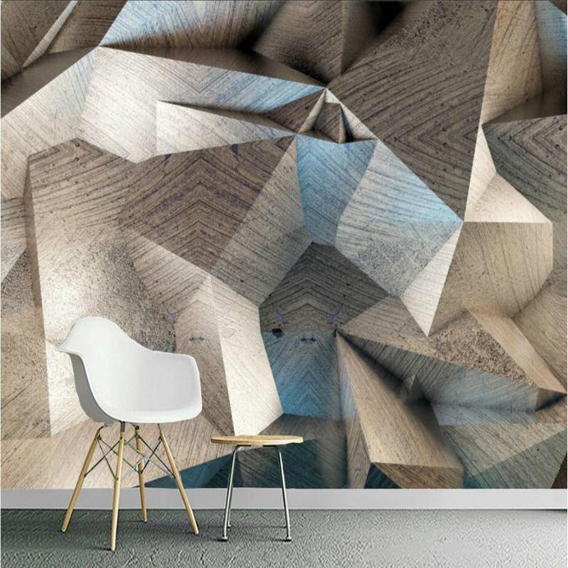 [해외]홈 개선 3D 벽 벽지 3D 장식 벽 종이 배경 그림 복고풍 추상 기하학 벽화 벽지/Home Improvement 3D Wallpaper for Wall 3d Decorative Wall Paper Background Painting Retro abstract