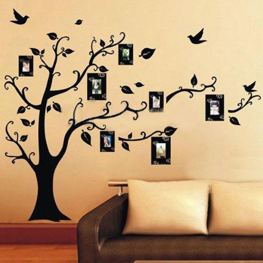 [해외]사진 나무 벽 스티커 이동식 전사 술 홈 데코 DIY Art Decoration Hot 검색/Photo Tree Wall Stickers Removable Decal Home Decor DIY Art Decoration Hot Search
