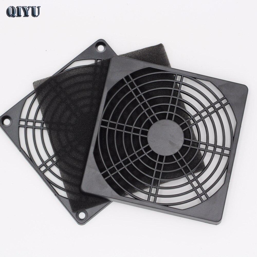 [해외]120mm 팬 먼지 필터 방진 스크린 PC 컴퓨터 케이스 메쉬 PC 케이스 팬 더스트 스폰지 필터 블랙/120mm Fan Dust Filter Dustproof Screen PC Computer Case Mesh PC Case Fan Dust Sponge Fil
