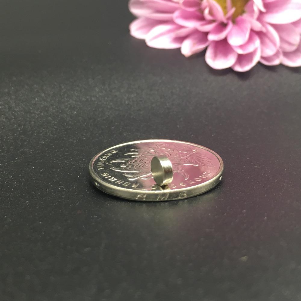 [해외]50pcs 네오디뮴 자석 6x2 mm 희토류 작고 강한 영구적 인 6 * 2mm 냉장고 전자석 NdFeB 니켈 마그네틱 디스크/50pcs Neodymium magnet 6x2 mm Rare Earth small Strong Round permanent 6*2mm