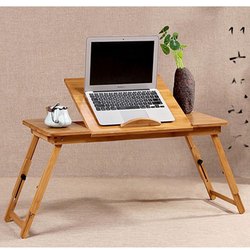 [해외]휴대용 대나무 노트북 책상 홈 오피스 침대 접이식 노트북 스탠드 데스크 컴퓨터 노트북 침대 테이블/휴대용 대나무 노트북 책상 홈 오피스 침대 접이식 노트북 스탠드 데스크 컴퓨터 노트북 침대 테이블