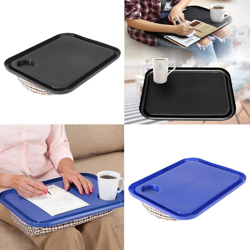 [해외]42x33cm 휴대용 노트북 데스크 트레이 크리 에이 티브 야외 학습 책상 게으른 테이블 침대 소파에 대 한 새로운 노트북 스탠드 홀더