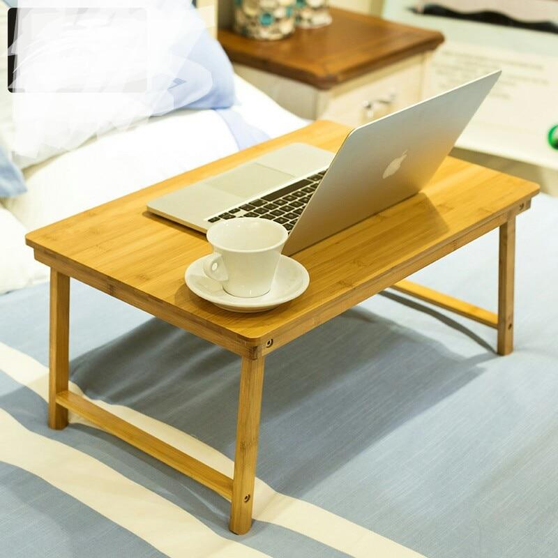 [해외]Computer Desks office home Furniture bamboo folding table for laptop notebook desk soporte notebook mesa ordenador portatil hot/Computer Desks off