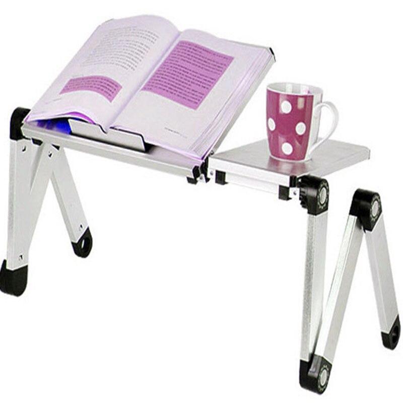 [해외]Highly recommended Portable Foldable Adjustable Laptop Desk Computer Table Stand Tray For Sofa Bed Red Yellow Blue Black White /Highly recommended