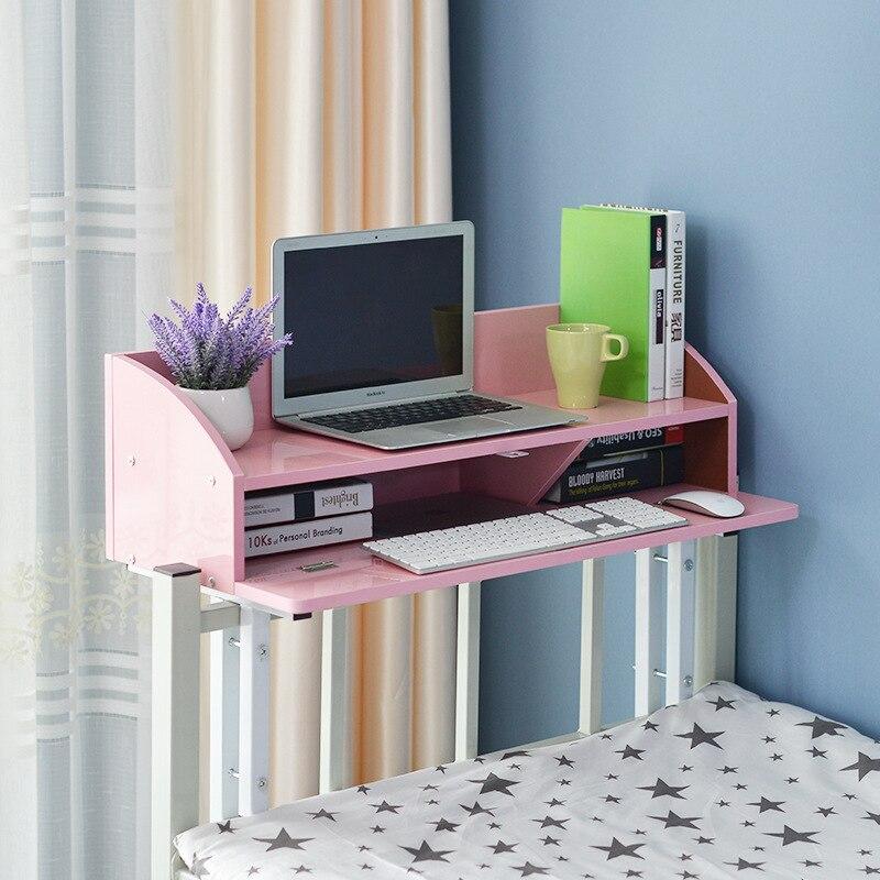 [해외]Computer Desk bed study table home Furniture wooden+ steel notebook desk soporte notebook bed tafel  ordenar cajones hot new/Computer Desk bed stu