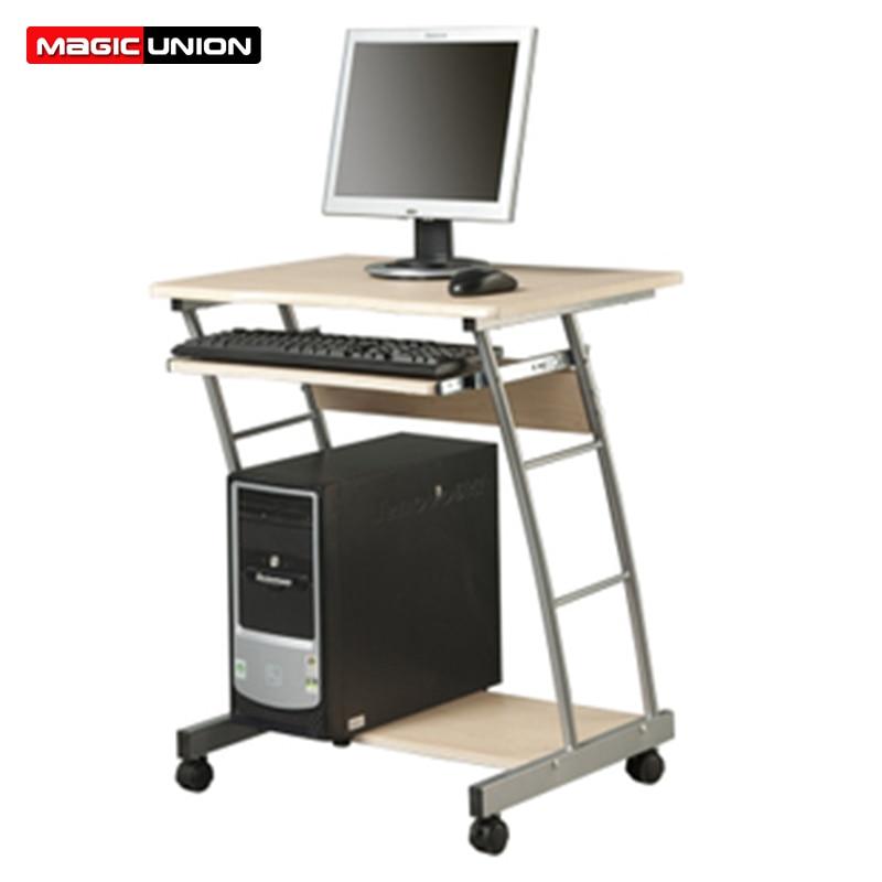 [해외]MAGIC UNION Simple Computer Table Desktop Computer Desk Home Mobile Learning Table Layered Computer Desk Commercial Furniture/MAGIC UNION Simple C