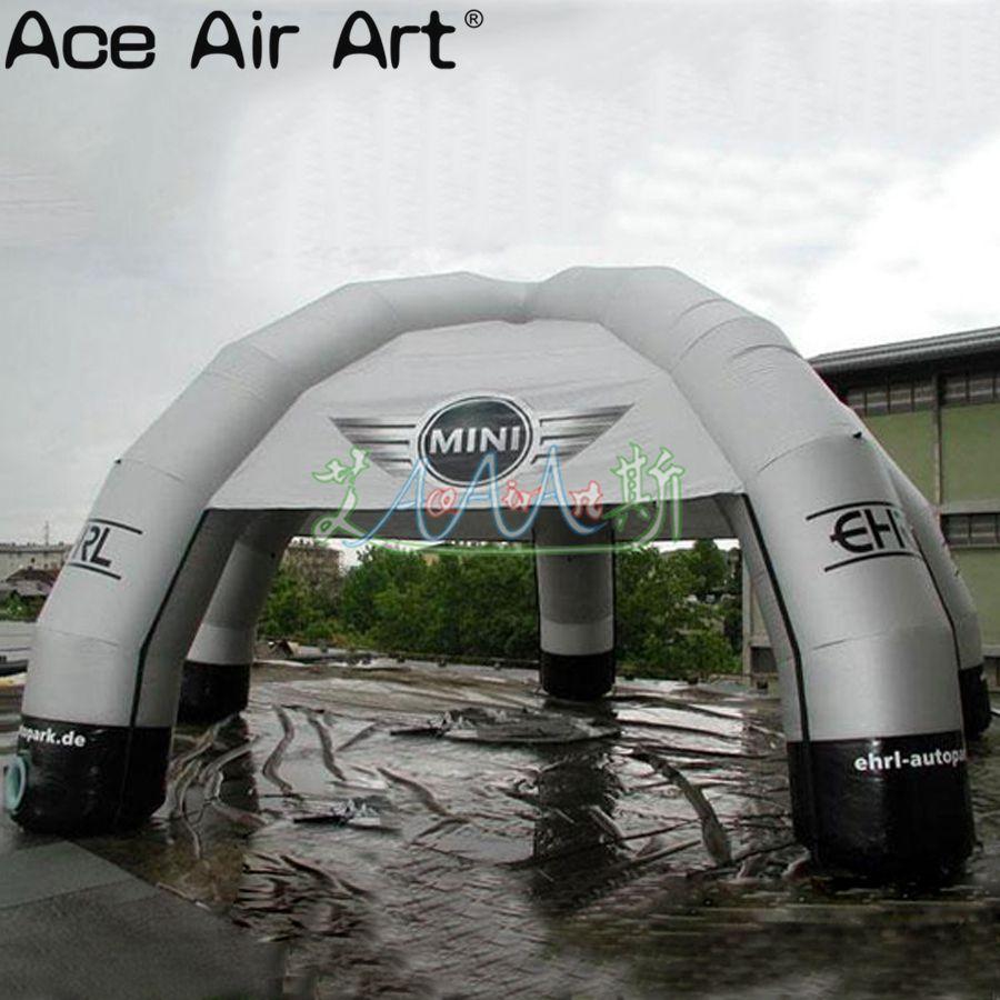 [해외]8m 직경 스파이더 텐트 5 다리 광고 풍선 구조 쉼터 돔 텐트 로고 만들기/8m 직경 스파이더 텐트 5 다리 광고 풍선 구조 쉼터 돔 텐트 로고 만들기