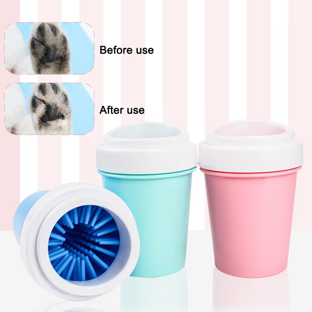 [해외]Pet foot wash cup dog foot washing artifact silicone cat cleaning supplies tool washing outdoor washing machine,/Pet foot wash cup dog f