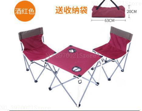 [해외]초경량 휴대용 접이식 테이블 의자 세트 야외 캠핑 하이킹 피크닉을위한 컵 홀더와 단단한 구조 가구/초경량 휴대용 접이식 테이블 의자 세트 야외 캠핑 하이킹 피크닉을위한 컵 홀더와 단단한 구조 가구