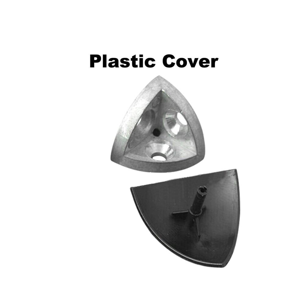 [해외]Hot 3-dimensional bracket 2020 Concealed 3-way corner connector EU standard 20/30/40/45 series Arc Aluminum Profile Accessories/Hot 3-dimensional
